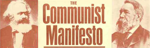 Marx and Engel's The Communist Manifesto