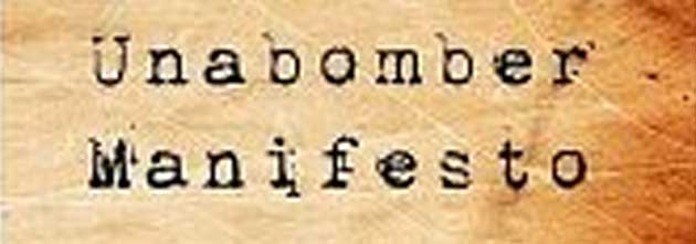 Ted Kaczynski: The Unabomber Manifesto