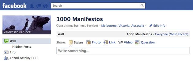 Geeks Are Sexy: Facebook Etiquette Manifesto