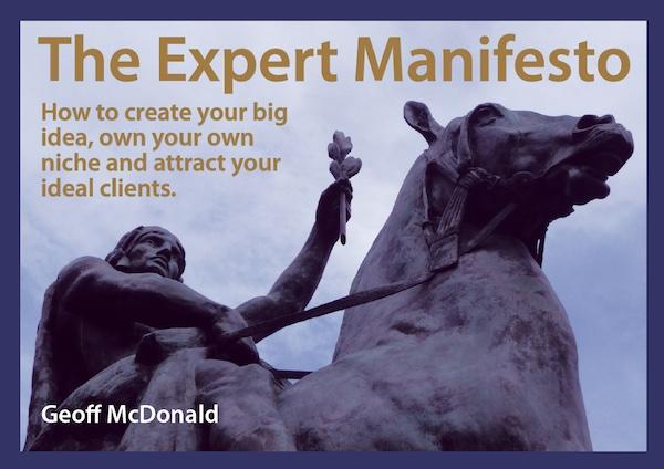 Expert Manifesto – Seven Ideals