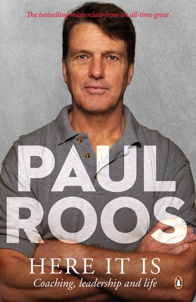 Paul Roos - Here It Is - book cover