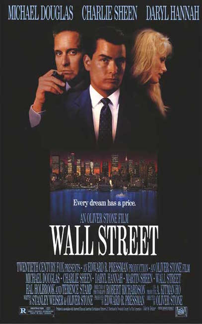 Gordon Gecko - Greed is Good - Wall Street Movie 1987